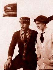 Captain Dave Martin Sr  and wife Helen, Brooklyn, NY – 1913
