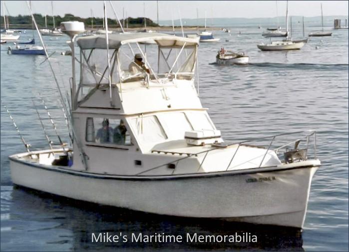 Linesider staten island ny 1987 for Ny fishing charters