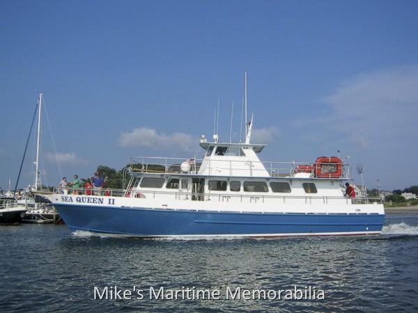Sea queen ii hyannis ma 2008 for Queen fleet deep sea fishing