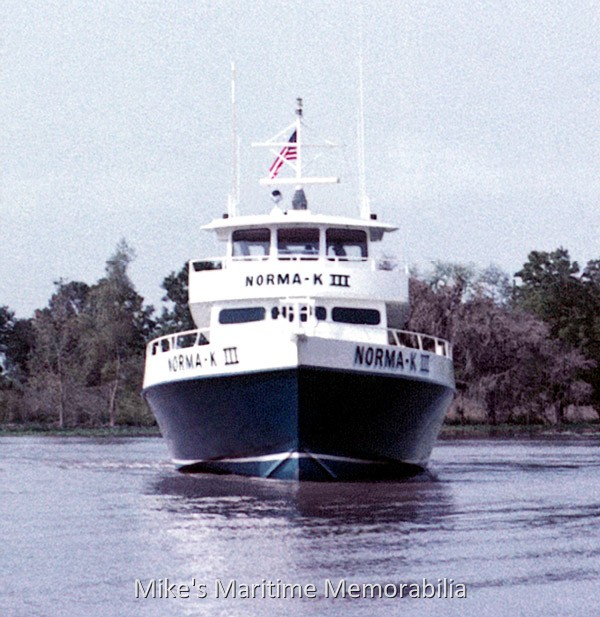 Norma k iii point pleasant beach nj 1975 for Point pleasant fishing boats
