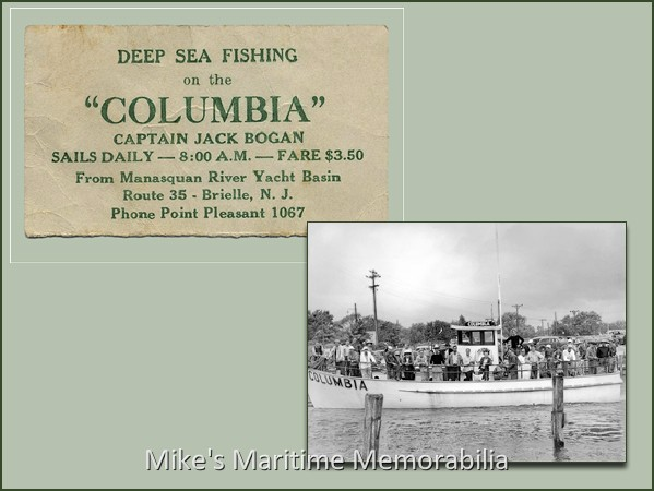 Columbia business card 1955 for Business cards columbia sc