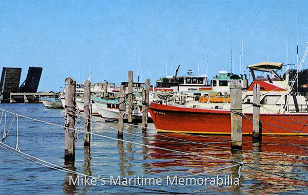 Belmar marina belmar nj 1981 for Belmar nj fishing