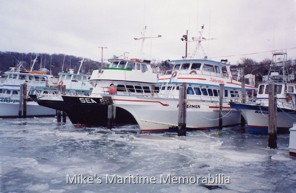 icebound atlantic highlands nj fishing fleet 1992