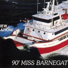 Rack cards for Miss barnegat light fishing report